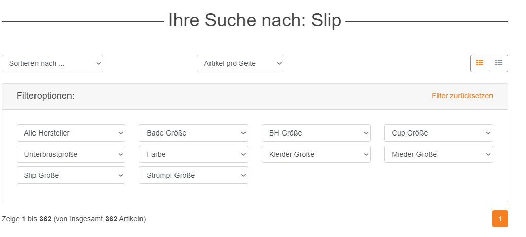 Suche Slip