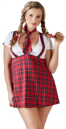 Cottelli Schulmädchen Kostüm bis Größe 60-62