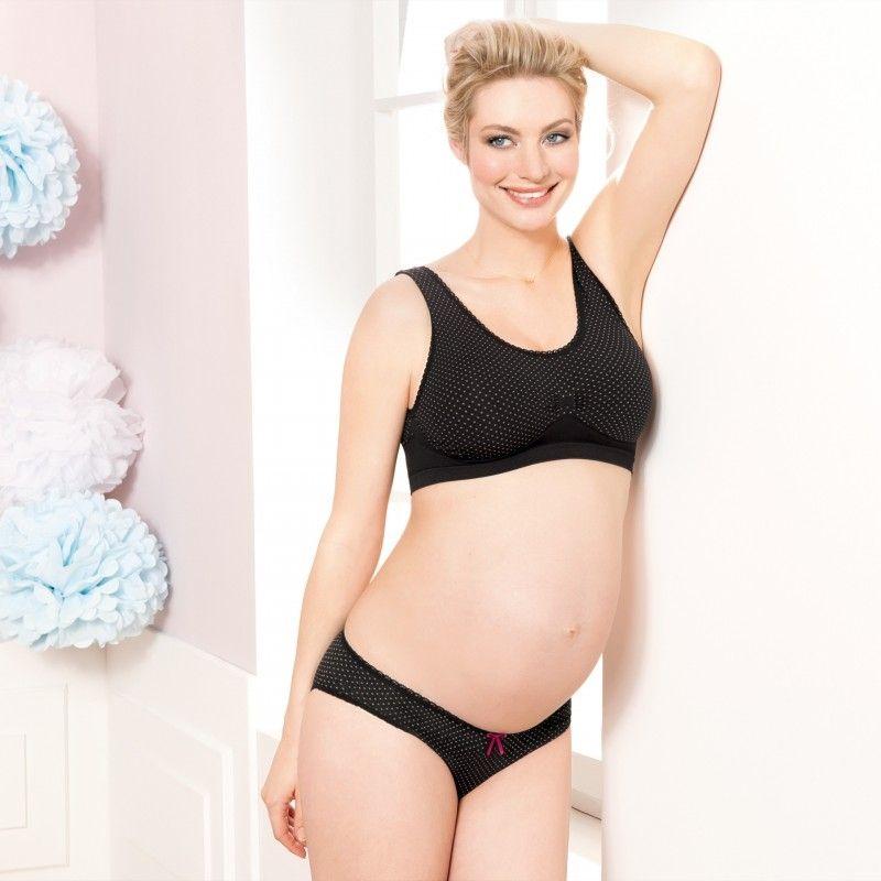 Anita Maternity Schwangerschafts Bustier schwarz