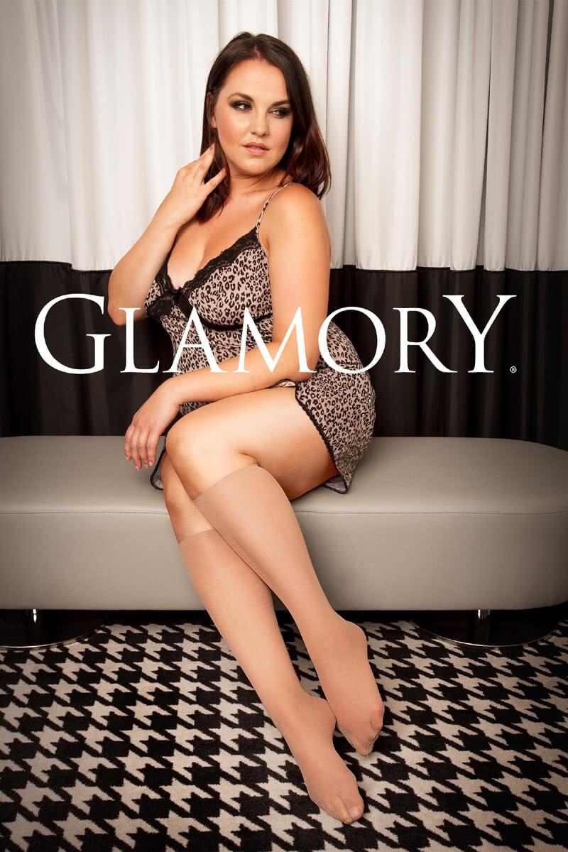 Glamory Damen Kniestrümpfe 20den 40-62 3er Pack