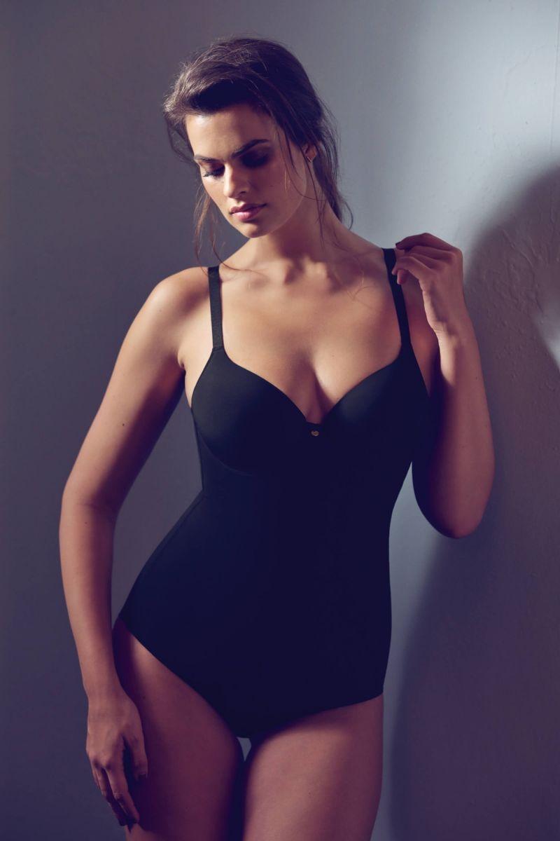 Body mit Schale figurformend schwarz