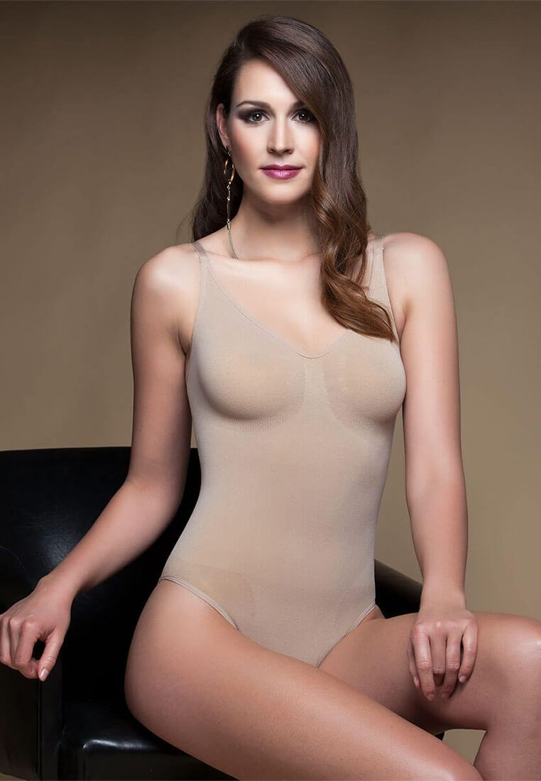Angebot Miss Perfect Bodyforming Body mit Bügel Größe 3XL haut