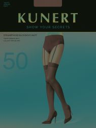Kunert Strumpfhose in Straps Optik Feminine Seduction 50den