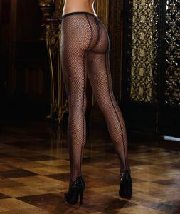 Dreamgirl Netzstrumpfhose schwarz