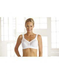Angebot Swegmark BH ohne Bügel Cotton Star Größe 85 E weiss
