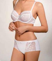 Angebot Lisca Bügel BH Serie Irina  90 D weiß
