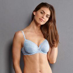 Angebot Anita Bügel BH Fleur Größe 105 F blau