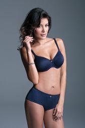 Angebot Lisca Bügel BH gemouldet Lorella 75 E blau
