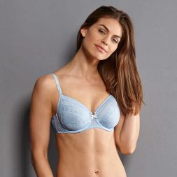 Anita Bügel BH Serie Fleur - blau Größe 95 E reduziert