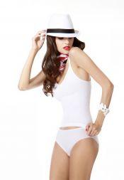 Miss Perfekt Style and Go Hemd ohne Bügel V-Ausschnitt