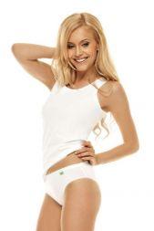 Trägerhemd Baumwolle weiß  Lisca Aura 3192