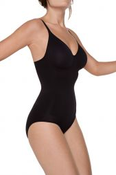 Miss Perfect Bodyforming Body mit Bügel Schwarz 34001