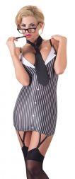 Cottelli Sexy Sekretärin im Strapskleid bis Größe XL