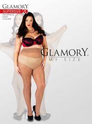 Glamory Feinstrumpfhose Super Size Größe 64-86