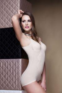 Miss Perfect Feintüll Korselett ohne Bügel (Alide) Body 80-105 B-D