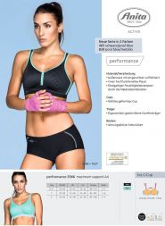 Anita Active Performance 5566 Maximum Support A4