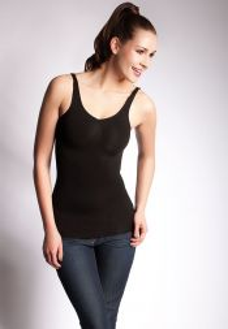 Schwarzes Shapewear Hemd