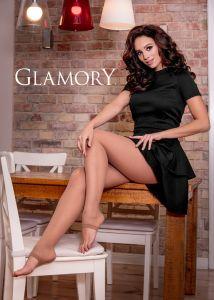 Glamory Feinstrumpfhose zehenfrei Größe 40-62