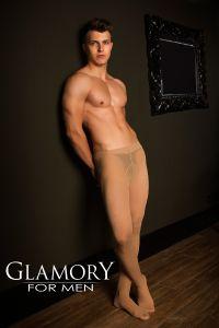 Glamory Herren Stütz-Strumpfhose Support 40 im 3er Pack