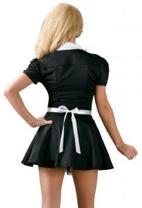 Kostüm Dienerin von hinten